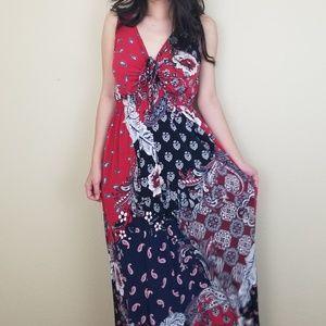 ❤BIG SALE ❤ Summer Mixed Print Maxi Dress